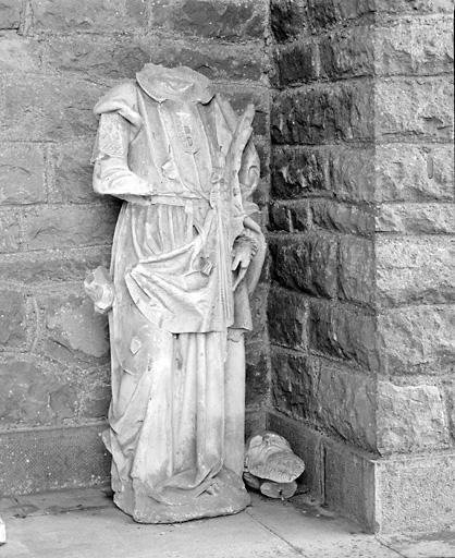 Statue (grandeur nature) : saint Paul