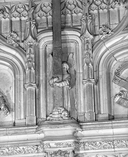 4 hauts-reliefs (suite) : anges
