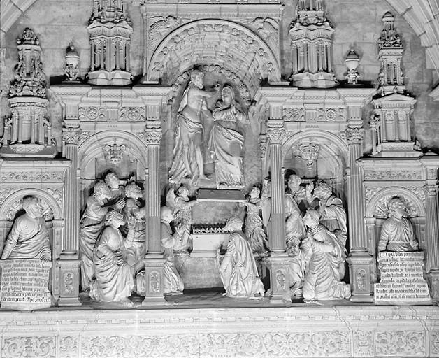 Groupe sculpté : Assomption