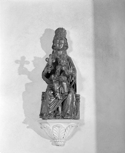 Statue (petite nature) : Vierge à l'Enfant (2)
