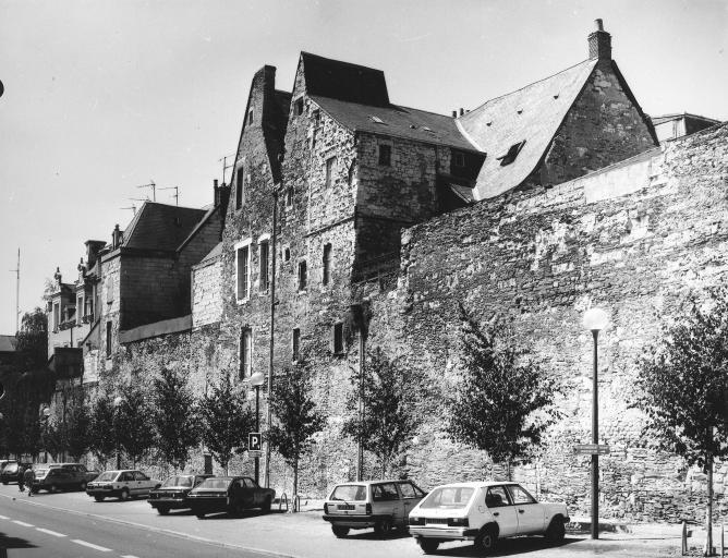 Fortification d'agglomération dite enceinte du Bas-Empire