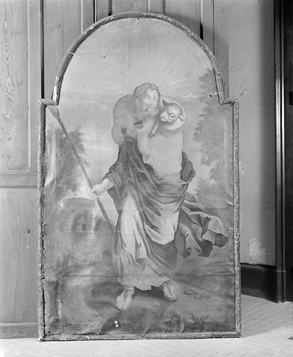 4 tableaux : Bon Pasteur, Présentation de la Vierge au Temple, Martyre de saint Etienne, Moïse et la manne