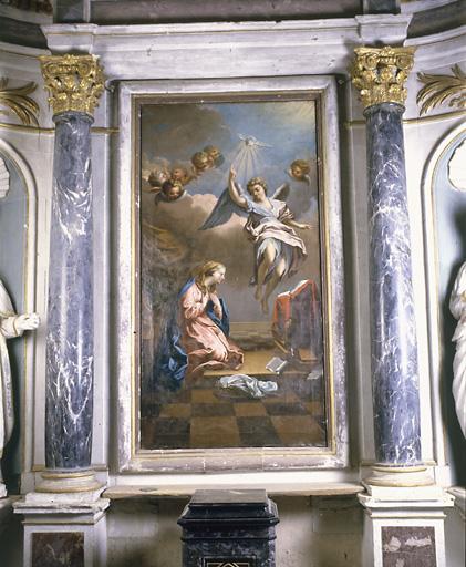 Tableau (tableau d'autel) : Annonciation