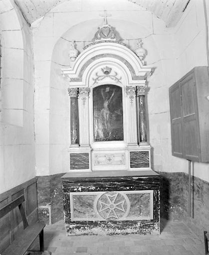 Retables des chapelles latérales