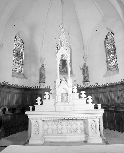 Autel, tabernacle (maître-autel, autel tombeau)
