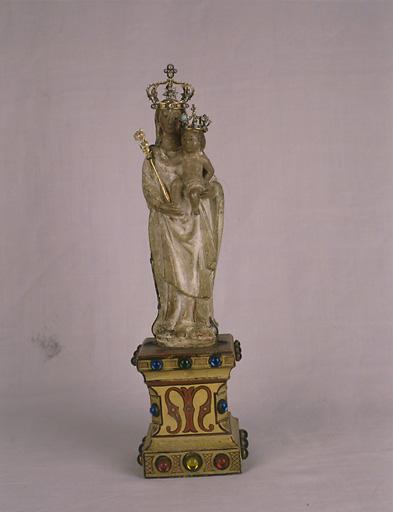 Statue (figurine) : Vierge à l'Enfant dite Notre-Dame du chêne