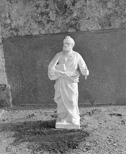 Statue (demi-nature) : saint Paul