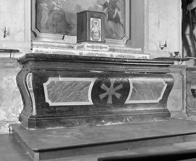Autel (maître-autel dit de saint Hilaire)