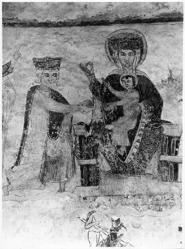 Peinture murale : enfance du Christ, Résurrection des morts, Enfer, martyres