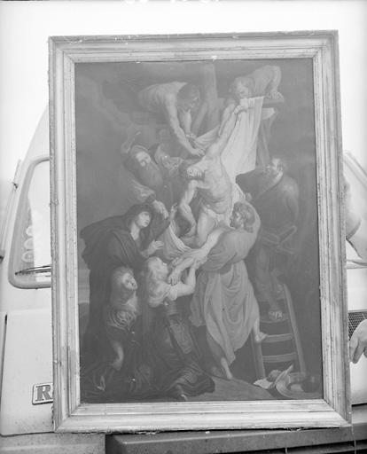 Estampe : Descente de Croix