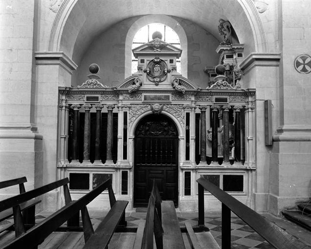 Ensemble de 4 clôtures de chapelle