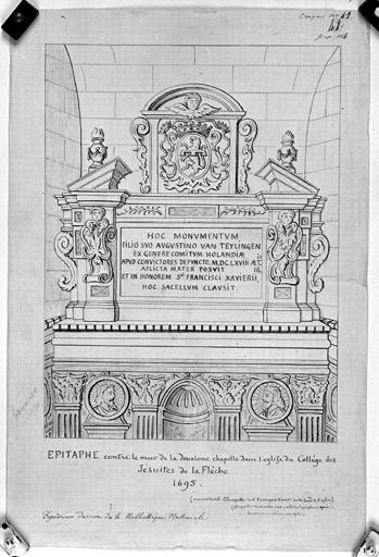 Cénotaphe d'Auguste Van Teylingen (n° 1)
