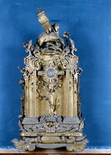 Reliquaire : sainte Marguerite