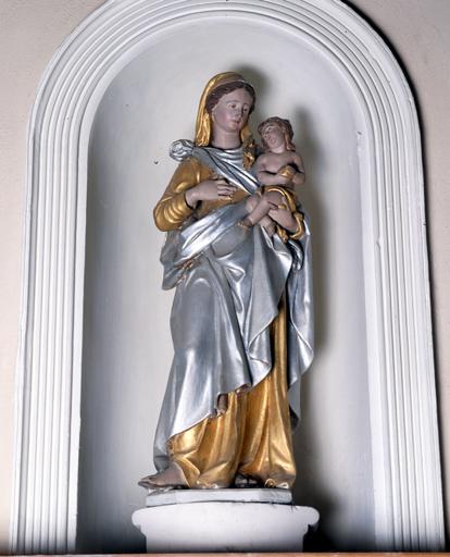 Statue (n° 2) : Vierge à l'Enfant