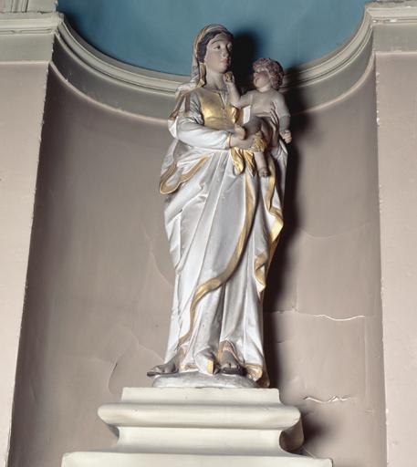 Statue (n° 1) : Vierge à l'Enfant