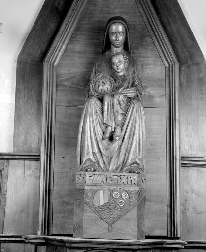 Statue (n° 3) : Vierge à l'Enfant dite Notre-Dame de la Paix