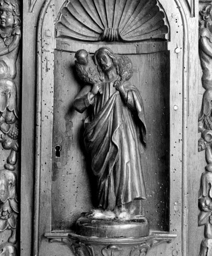 Statue du tabernacle : Bon pasteur