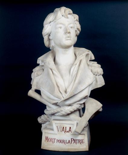 Buste sur piédouche : Viala