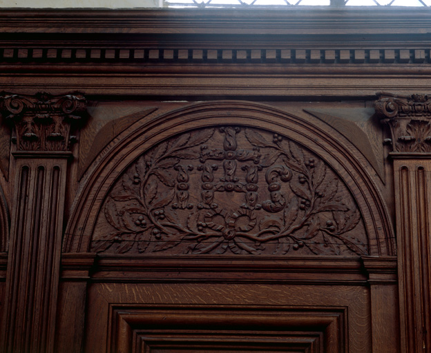 Lambris de demi-revêtement des chapelles Notre-Dame et Saint-Ignace