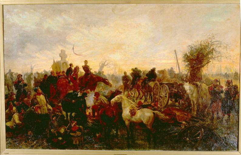Tableau : la bataille de Solférino