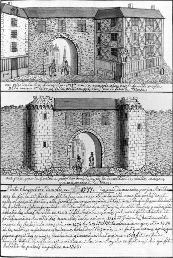Fortification d'agglomération dite enceinte du bourg d'Angers