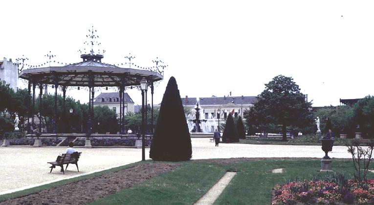 Jardin public dit jardin du Mail