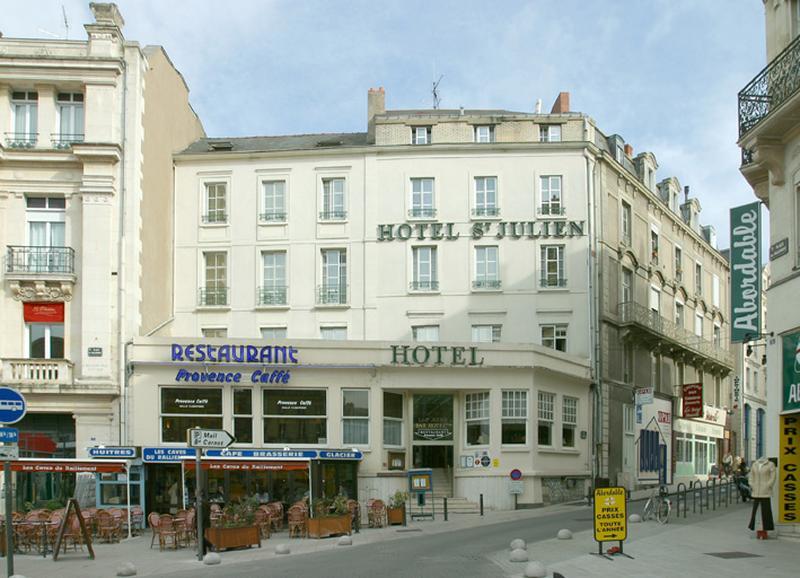 Immeuble Falsce n°2, actuellement hôtel de voyageurs Saint-Julien