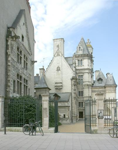 Hôtel de Pincé, actuellement musée Pincé