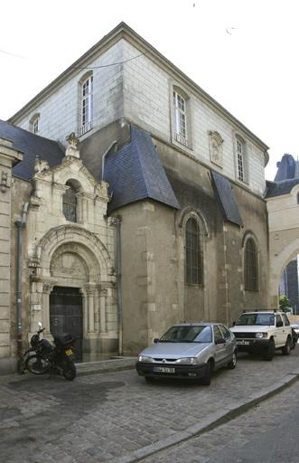 Prieuré Saint-Eloi, dit prieuré Saint-Gilles-du-Verger, puis petit séminaire, actuellement temple et siège des cours municipaux