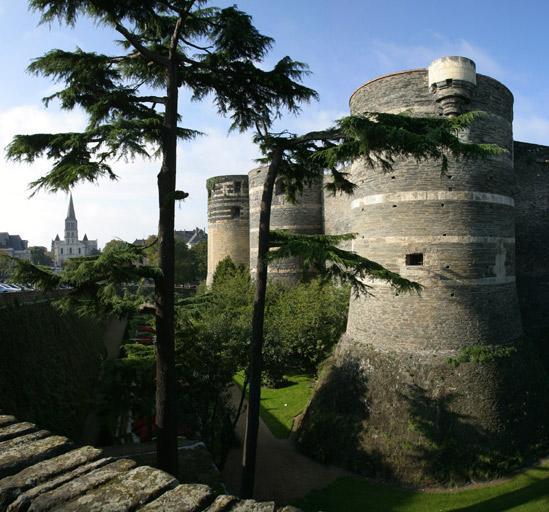 Château fort, puis château des ducs d'Anjou