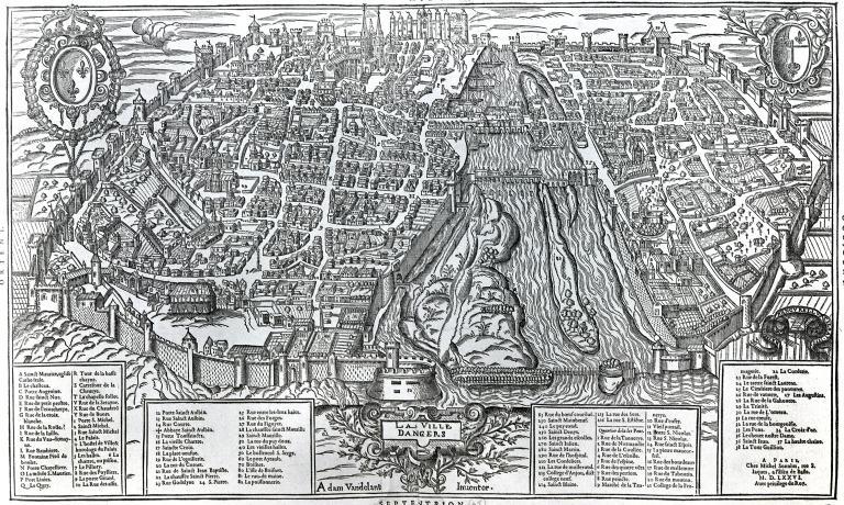 Fortification d'agglomération dite enceinte de Saint Louis