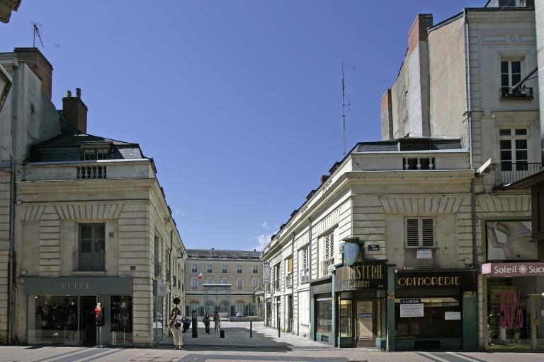 Rue de la Préfecture, puis rue Haute-Saint-Martin, actuelle partie sud de la rue Saint-Martin (n°26-31)