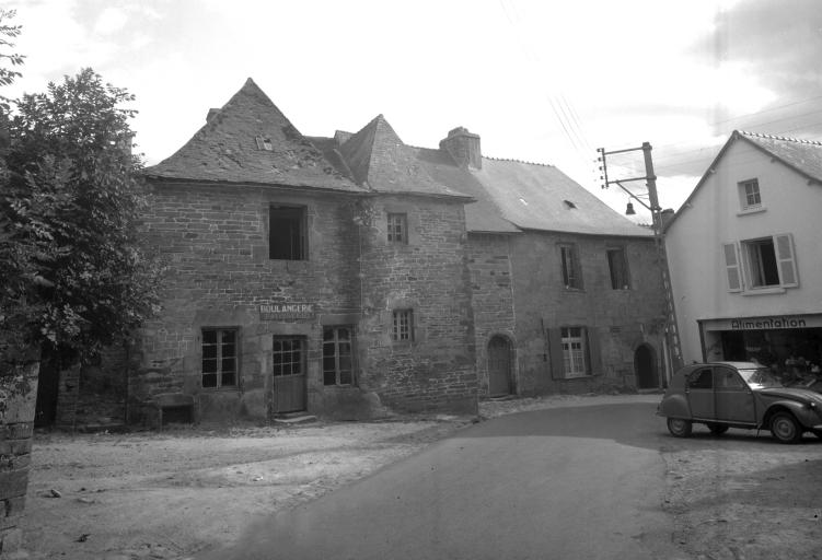 Ensemble de deux maisons, 9, 11 rue de la Tour d'Auvergne (Carhaix-Plouguer)