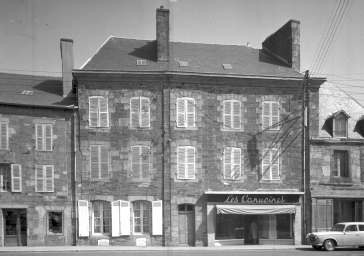 Maison, 21 rue Félix Faure (Carhaix-Plouguer)