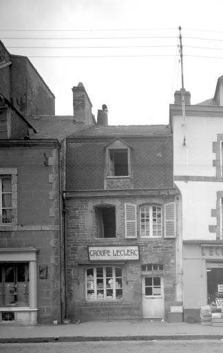Maison, 10 rue du Général Lambert (Carhaix-Plouguer)