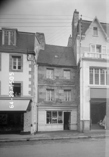 Maison, 19 rue du Général Lambert (Carhaix-Plouguer)