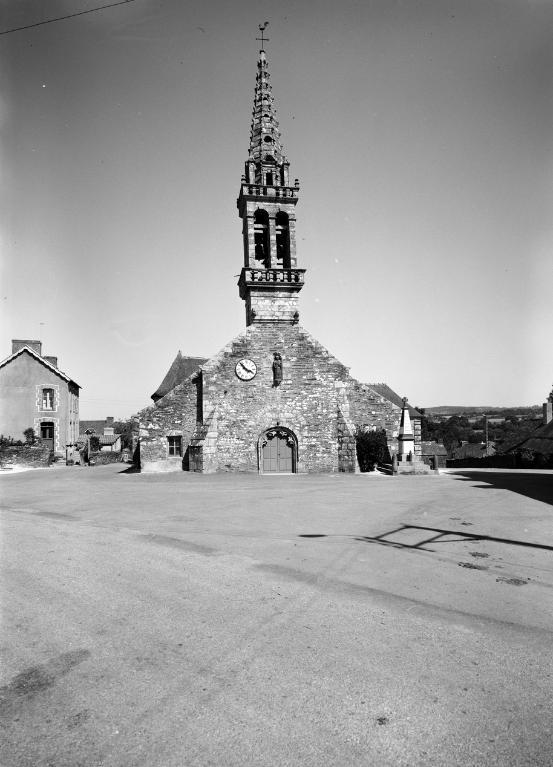 Présentation de la commune de Saint-Thois ; Eglise paroissiale Saint-Exupère (Saint-Thois)