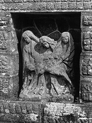 Groupe sculpté (demi-nature) : Déploration