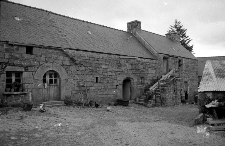 Ferme, Mané Butur (Bubry) ; Les maisons et fermes de la commune de Bubry