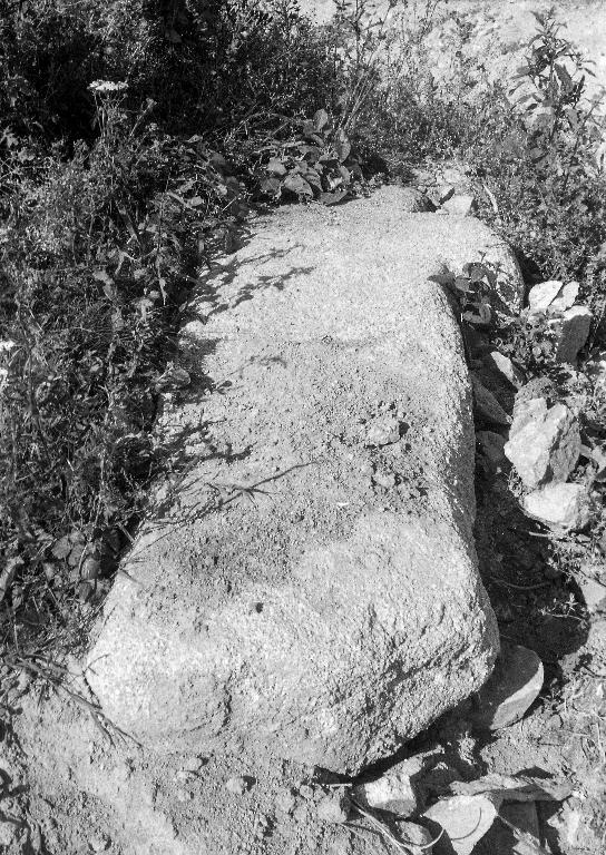 Croix de chemin dite Croas Teo, Prat ar Belec (Plounévez-Lochrist)
