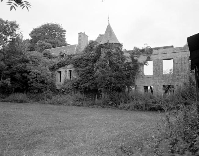 Château, le Glazan (Canihuel)