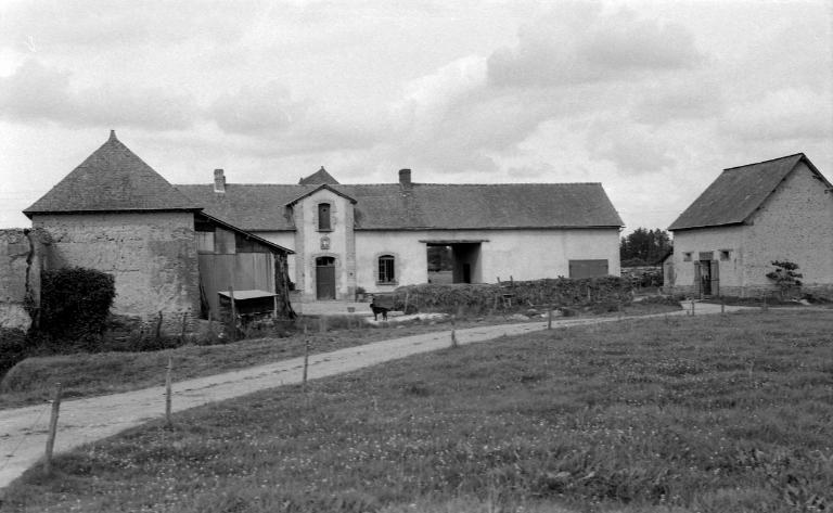 Écart de la Rousselais (Mordelles) ; Les maisons et fermes sur la commune de Mordelles