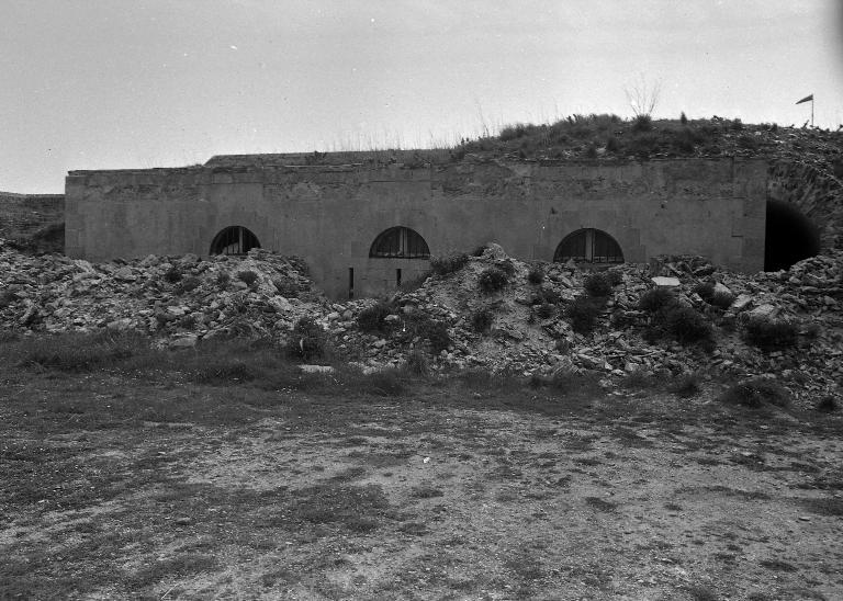 Corps de garde crénelé actuellement maison, batterie de Ramonette (Le Palais)