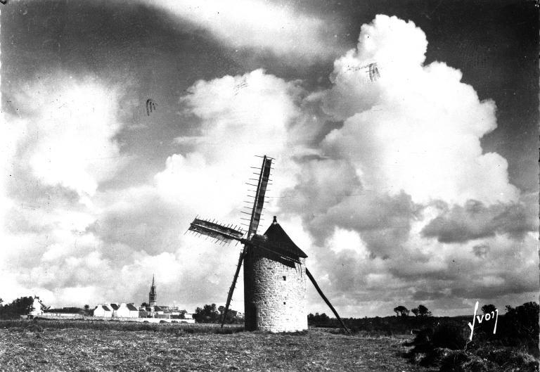 Moulin de Kerazan, près de Kerfraval (Cléden-Cap-Sizun) ; Les moulins (Cléden-Cap-Sizun)