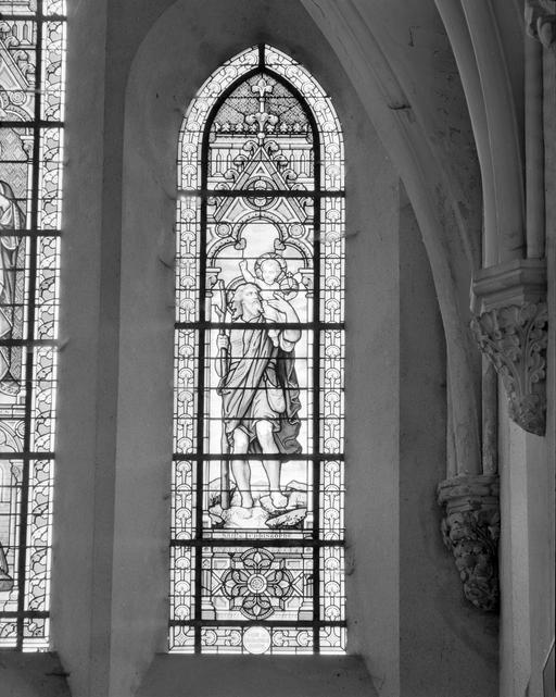 verrières : Saint Christophe, Sacré Coeur, Sainte Anne et la Vierge