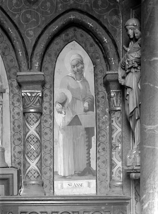 Peintures (2) : Sainte Anne, Sainte Philomène