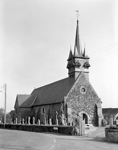 Eglise paroissiale Saint-Melaine (Cornillé)
