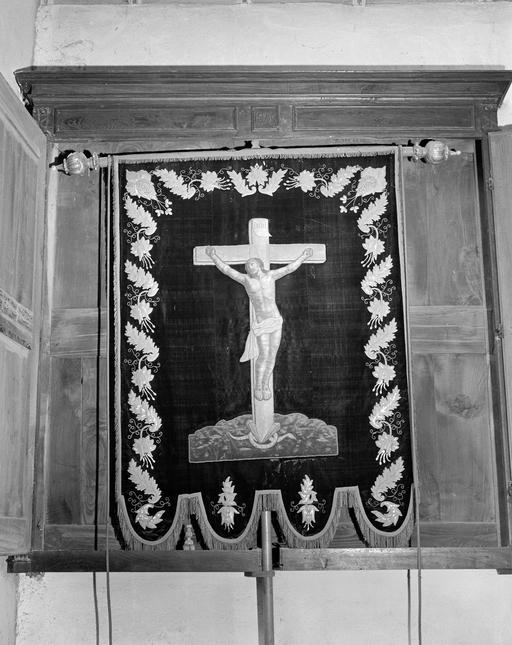 Bannière de procession dite de saint Melaine