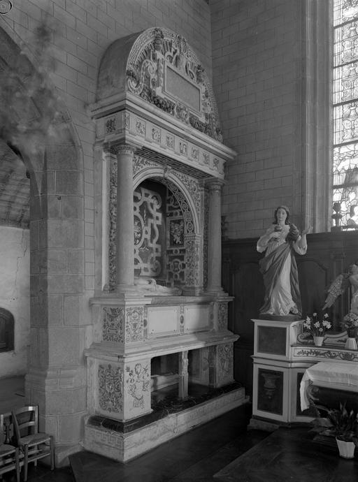 Tombeau, de Guy d'Epinay et de Louise de Goulaine