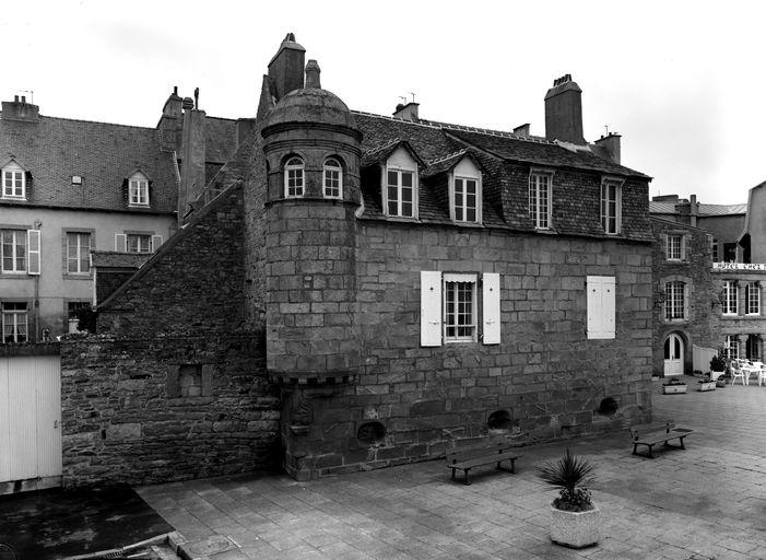 Maison de négociant, passage Louis Noir (Roscoff)